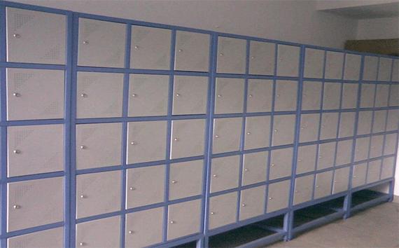 Personal Lockers Installation